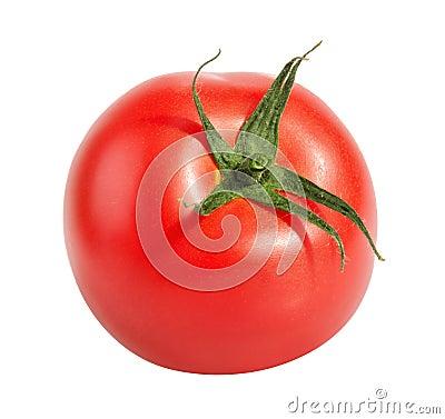 Free Tomatoe Isolated On White Stock Photo - 56696730