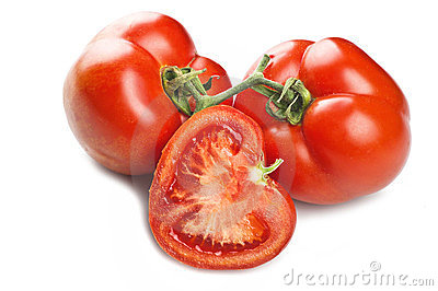 Tomatoes on the balance