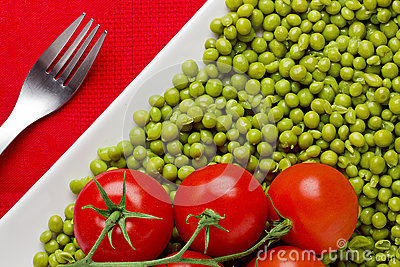 Tomatoes and Peas