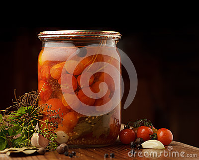 Tomatoes preserves
