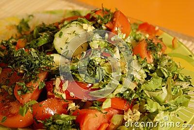 Tomatoes salad 2