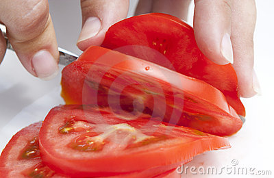 Tomatoes slice