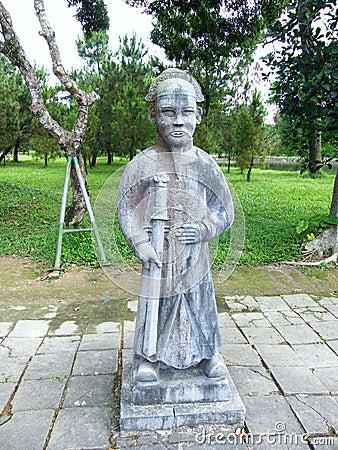 Tomb of Emperor Minh Mang, Hue Vietnam