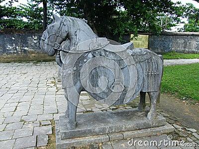 Tomb emperor Minh Mang, Hue Vietnam