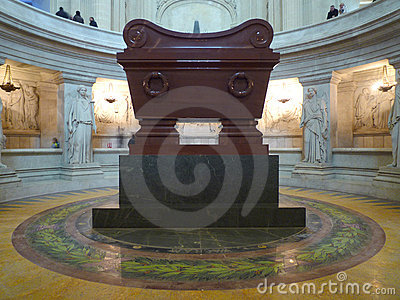 Tomb of Napoleon Bonaparte Editorial Photography