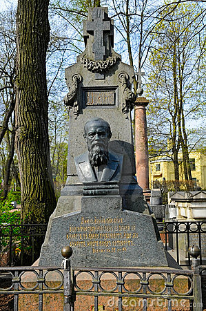 Free Tomb Of Dostoevsky Stock Image - 18341531