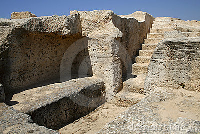 Tomb ruins in Cyprus