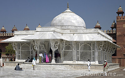 Tomb of Sheikh Salim Chishi - India Editorial Stock Photo