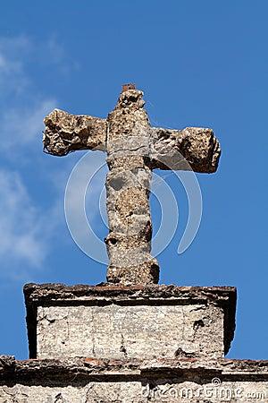 Tomb stone cross