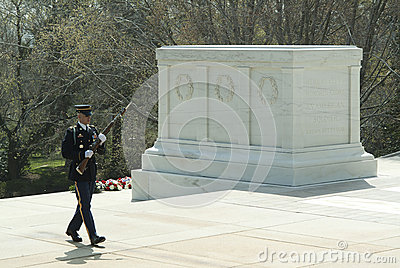 The Tomb of the Unknown Soldier 2 Editorial Photography