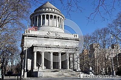 Tomba del Grant Fotografia Editoriale