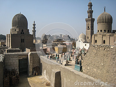 The tombs of the Caliphs . Cairo. Egypt