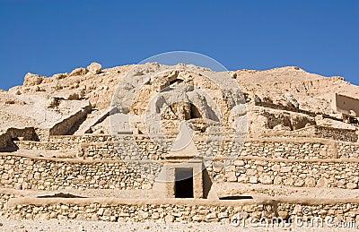 Tombs at Deir el Medina, Luxor