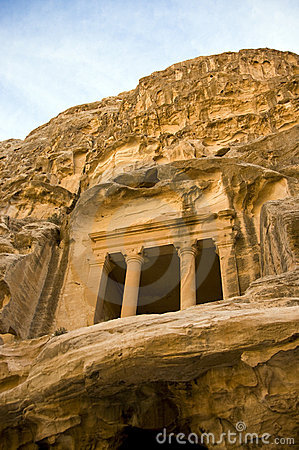 Tombs in Little Petra, Jordan