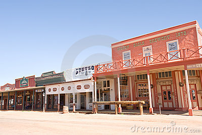Tombstone, AZ Editorial Stock Image