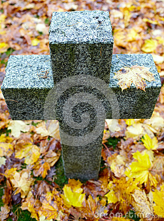 Tombstone cross