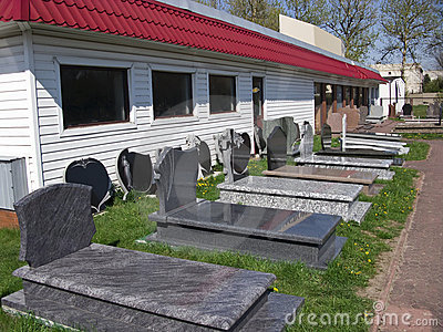 Tombstones manufacture
