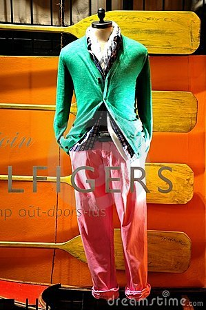 Tommy Hilfiger fashion shop in Italy  Editorial Stock Photo