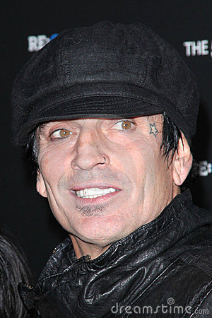 Tommy Lee Editorial Stock Photo