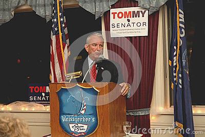 Tommy Thompson GOP Candidate for WI US Senate Editorial Image