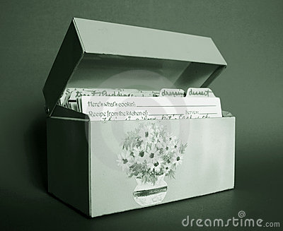 Toned Recipe Box