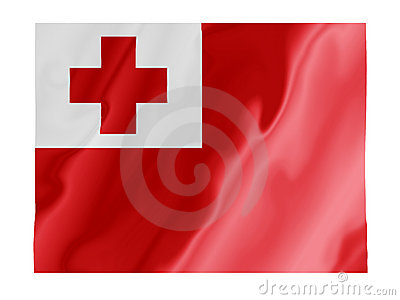 Tonga fluttering