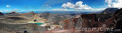 Tongariro Crossing Grand Panorama