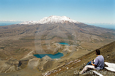Tongariro crossing, New Zealand