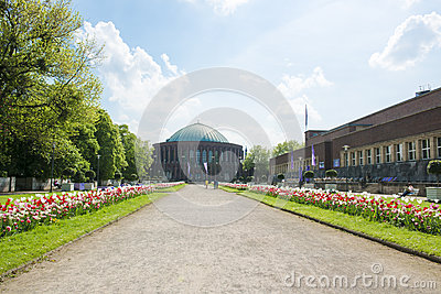 Tonhalle Duesseldorf Editorial Stock Photo