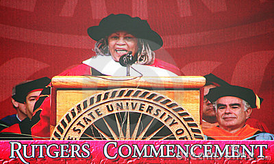 Toni Morrison, Commencement Speaker Editorial Photography