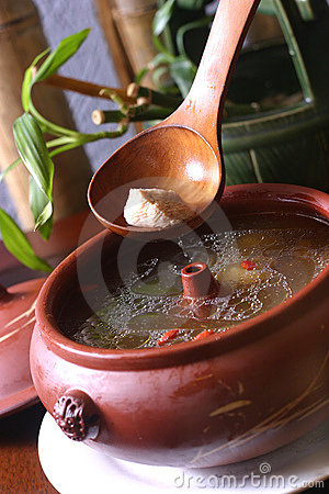 Tonic herbal soup