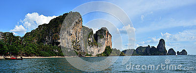 Tonsai Bay at Krabi Thailand