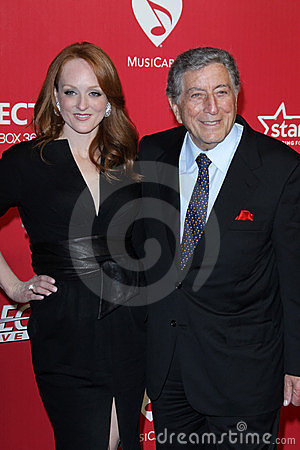 Tony Bennett Editorial Stock Photo