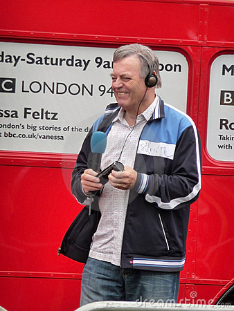 Tony Blackburn At River Thames Festival Editorial Photo