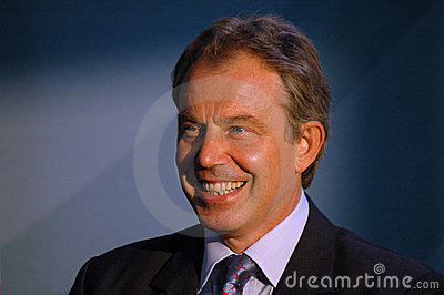 Tony Blair Editorial Stock Photo
