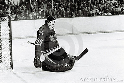 Tony Esposito Chicago Blackhawks Editorial Stock Image