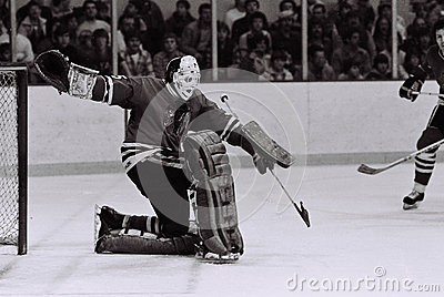 Tony Esposito Chicago Blackhawks goalie Editorial Image