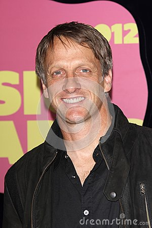 Tony Hawk at the 2012 CMT Music Awards, Bridgestone Arena, Nashville, TN 06-06-12 Editorial Photography
