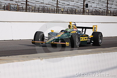 Tony Kanaan 82 Indianapolis 500 Pole Day 2011 Indy Editorial Photo