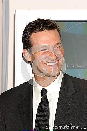 Tony Romo Editorial Stock Image