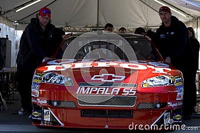 Tony Stewart NASCAR Sprint Cup Series Editorial Stock Photo