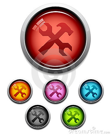 Tool button icon