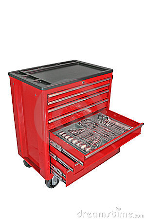 Free Tool Chest Royalty Free Stock Photos - 3467048