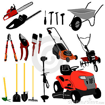 Free Tool Collection - Vector Royalty Free Stock Photo - 8705055