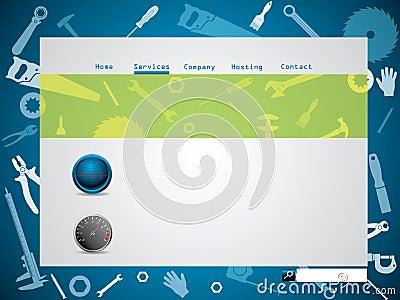 Tool design website template