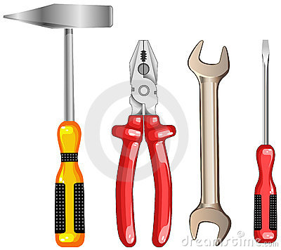 Free Tool For Repair Royalty Free Stock Photography - 5645687