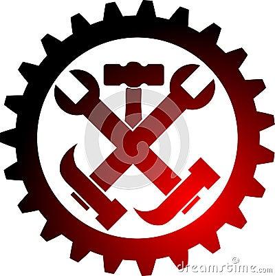 Tool gear logo