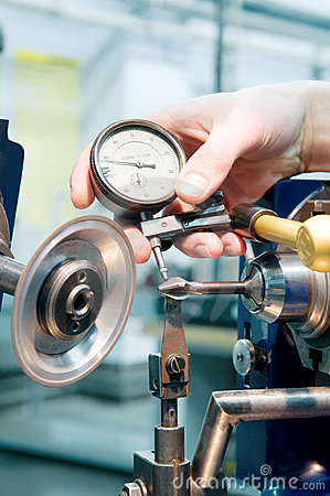 Free Tool Quality Measuring Process Stock Photography - 18177602