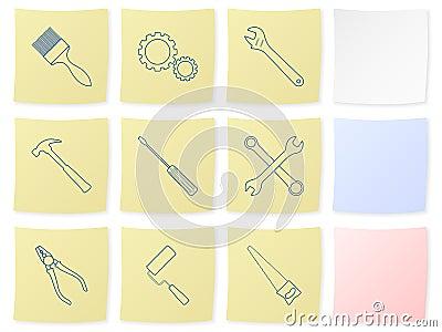 Tool sticker