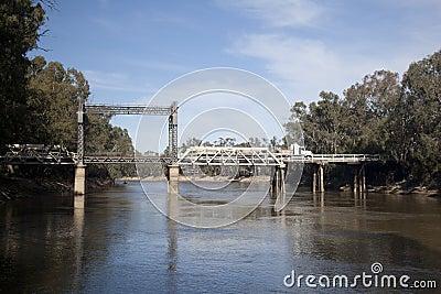 Tooleybuc Lift Span Bridge